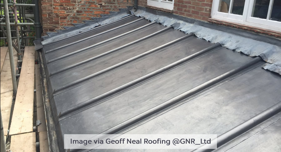 Lead roof work in York by Geoff Neal Roofing