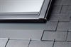 VELUX recessed slate flashings provide an aesthetically pleasing finish to the roof - Roofinglines