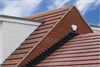 Ubiflex lead free flashing installed in black - Roofinglines