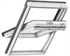 VELUX white PU finish centre pivot roof windows - Roofinglines