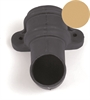 Brett Martin Cascade Round Downpipe Shoe with Lugs - 68mm - Sandstone