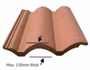 VELUX EDW UK08 0000 Tile Flashing 134x140cm