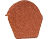 Lightweight Tiles Granulated Ridge End Cap - Red
