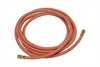Orange Propane Hose with Crimps & Fittings - 8mm x 5m