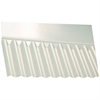 "Vistalux Corolux 3"" Wall Flashing PVC - 695mm"