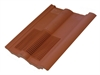 Ubbink UB62 In Line Tile Vent for Double Roman Tiles - Terracotta