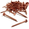Annular Copper Clout Nails - 38mm x 2.65mm - Pack of 420 - 1kg