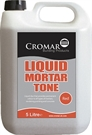 Cromar Liquid Mortar Tone - Red - 5L