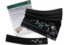 Hargreaves Beaded Half Round Gutter Jointing Kit - Gaskets, Bolts, Nuts and Washers