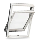 Dakea KPA C2A Better PVC White Centre Pivot Roof Window 55x78cm