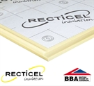 Recticel EUROWALL+ Tongue and Groove Insulation Board - 1200mm x 460mm x 90mm