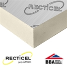 Recticel Eurowall Cavity Insulation Board - 1200mm x 450mm x 75mm