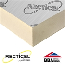 Recticel Eurothane GP Insulation Board - 2400mm x 1200mm x 25mm