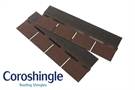 Coroshingle Light Roofing Shingles Red (2m² Pack)