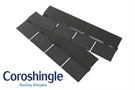 Coroshingle Light Roofing Shingles Slate Grey (2m² Pack)