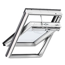 VELUX INTEGRA GGU MK04 007021U Electric White PU Laminated Centre Pivot Roof Window 78x98cm