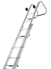 Zarges Industrial Roof Ladder - 15 Rungs - 4.95m