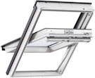 VELUX GGL CK02 2070 White Paint Laminated Centre Pivot Roof Window 55x78cm