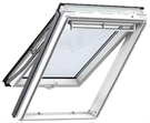 VELUX GPL CK04 2070 White Paint Laminated Top Hung Roof Window 55x98cm