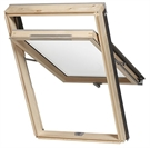 Dakea KHV C4A B1000 View Pine High Pivot Roof Window 55x98cm
