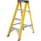 4 Tread Fibreglass Heavy Duty Trade Stepladder