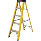 5 Tread Fibreglass Heavy Duty Trade Stepladder