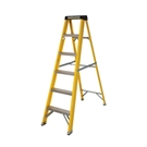 6 Tread Fibreglass Heavy Duty Trade Stepladder
