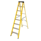 8 Tread Fibreglass Heavy Duty Trade Stepladder