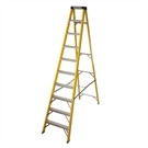 10 Tread Fibreglass Heavy Duty Trade Stepladder