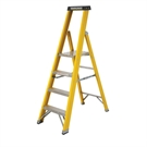 8 Tread S400 Fibreglass Heavy Duty Platform Stepladder