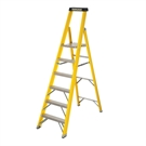 6 Tread S400 Fibreglass Heavy Duty Platform Stepladder