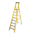 4 Tread S400 Fibreglass Heavy Duty Platform Stepladder