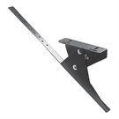 Klober Trapac Walkway Support Bracket for Slate/Flat/Fibre Cement - Black