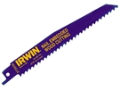 Irwin 656R Sabre Saw Blades Nail Embeded Wood- 150mm - Pack of 5