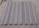 Big Six Corrugated Profiled Concrete Roof Sheet - 6ft