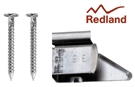 Redland Cambrian Slate Clips - Pack of 100 & 210 Nails