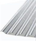 "Corrugated 3"" Galvanised Steel Sheet - 914mm x 1.82m (6ft) x 0.45mm"