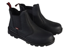 Scan Ocelot Black Dealer Safety Boots - UK 10 / Euro 44