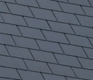 "Cembrit Moorland Fibre Cement Slate - 600mm x 600mm / 24"" x 24"" - Blue/Black"