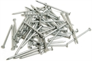 Galvanised Round Wire Nails - 65mm x 2.65mm - Pack of 346 - 1kg
