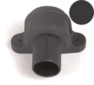 Brett Martin Cascade Round Downpipe Coupler with Lugs - 68mm - Anthracite Grey