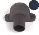 Brett Martin Cascade Round Downpipe Coupler with Lugs - 68mm - Oxford Blue