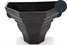 Brett Martin Cascade Medium Ogee Planter - Anthracite Grey
