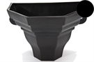 Brett Martin Cascade Medium Ogee Planter - Black