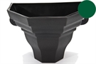 Brett Martin Cascade Medium Ogee Planter - Olive Green