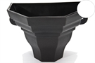 Brett Martin Cascade Medium Ogee Planter - Porcelain White