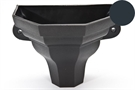 Brett Martin Cascade Small Ogee Planter - Anthracite Grey