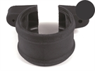 Brett Martin Cascade Push-Fit Soil Downpipe Socket Shroud with Lugs - 110mm - Anthracite Grey