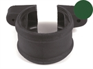 Brett Martin Cascade Push-Fit Soil Downpipe Socket Shroud with Lugs - 110mm - Olive Green