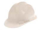 Scan Deluxe Safety Helmet - White